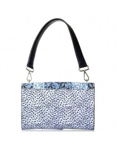 ROBERTO CAVALLI CLASS Shoulder bag Handbag Clutch Blue Tasche Printme002
