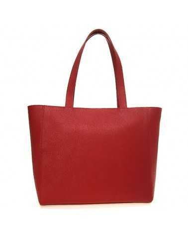 Love Moschino leather bag red حقيبة يد سوداء JC4072