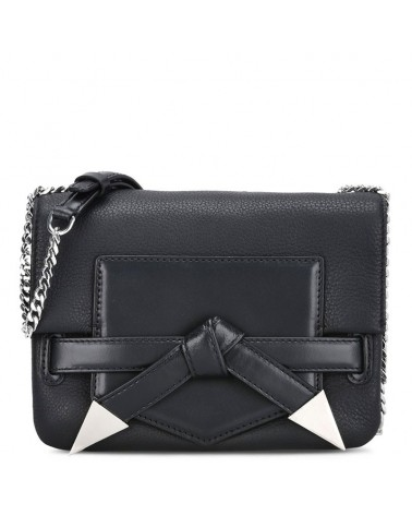 Karl Lagerfeld Rocky crossbody black genuine leather حقيبة كتف