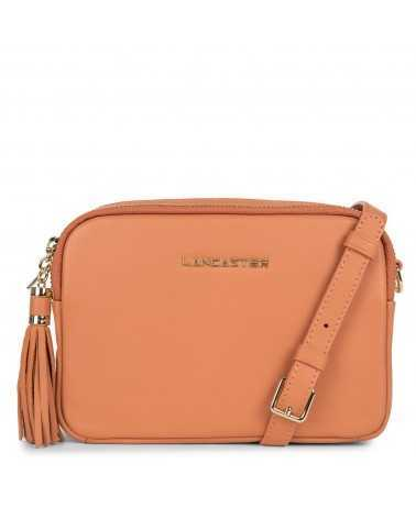 Lancaster Paris crossbody leather оrange