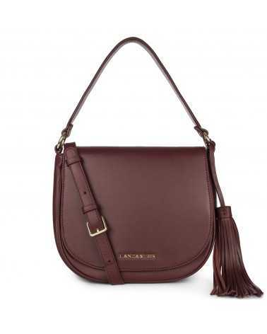 Lancaster Paris crossbody leather black 57352