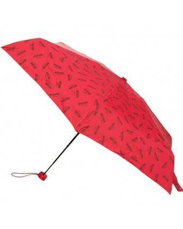 Moschino super mini ombrello da borsetta rosso 8018 Umbrella