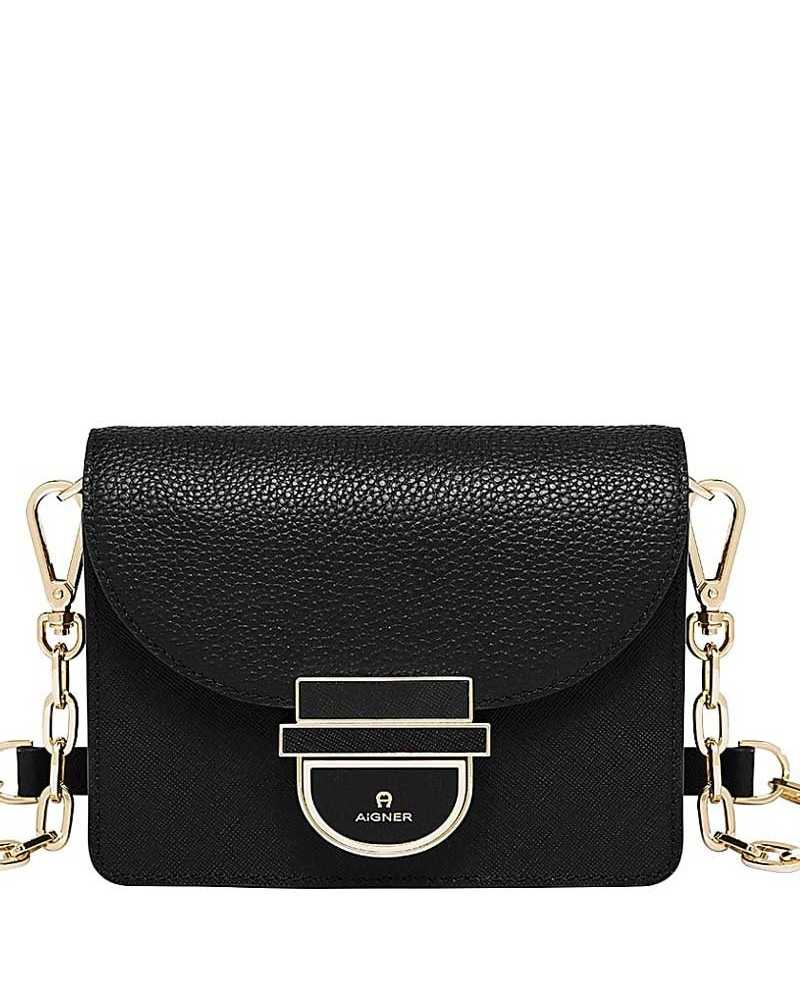 AIGNER Cosima XS shoulder bag black 132114