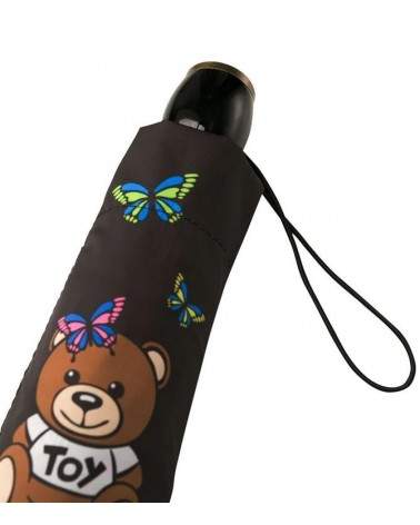 MOSCHINO umbrella with Teddy toy bear black 8129