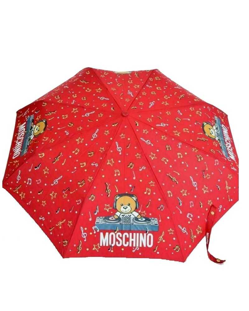 MOSCHINO umbrella with Teddy toy bear red 8069