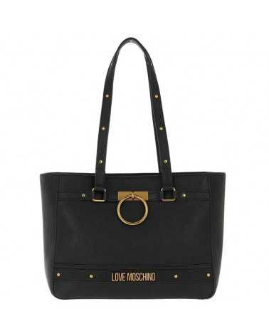 Love Moschino shoulder tote bag black 4062
