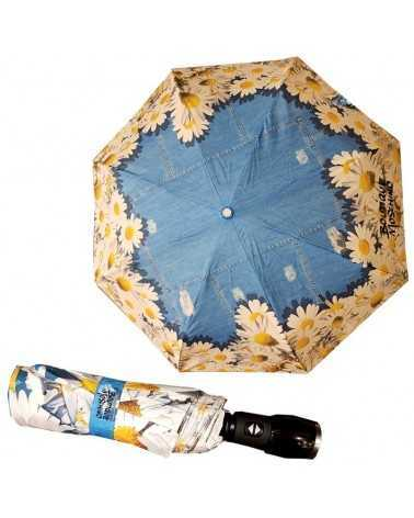 Umbrella Moschino black black 7006 مظلة
