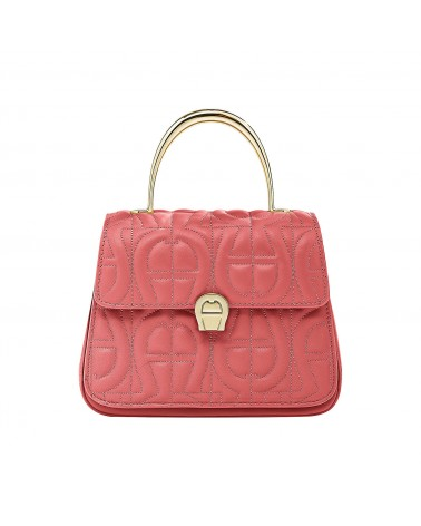 AIGNER Genoveva S handbag quilted leather rose 135336
