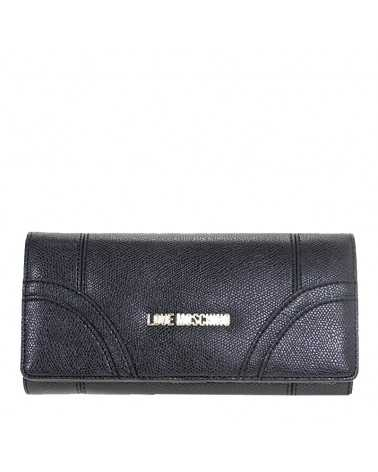 Wallet Purse Love Moschino Black JC5562 Geldbörse bag